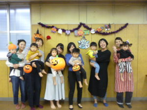大田区 リトミックサークル リトミっこ ハロウィン 2019